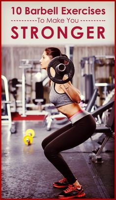 Top 10 Barbell Exercises For Women