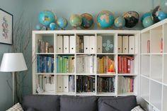 Decorar con globos y mapas… ¡y dónde comprarlos! | Holamama blog