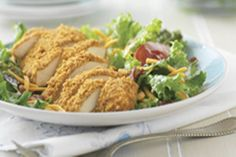 Best. Salad. EVER. That's how one reviewer described this Crispy Chicken BLT Salad. Try it yourself and see if you agree!