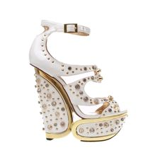 Lennox in white. We can never have enough bling!