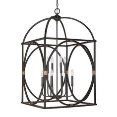 Capital Lighting Traditional 8-light Painted Surry Foyer/Pendant/Chandelier Light | Overstock.com