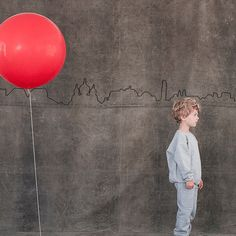 Red Balloon costume. OK it's a costume but I don't know how many times we watched this movie in school.
