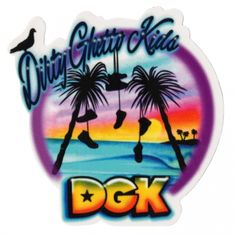 DGK Skateboards <br> DGK Venice Sticker