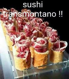Sushi transmontano