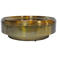 Mastercraft Brass and Mirror Coffee Table | From a unique collection of antique and modern coffee and cocktail tables at https://www.1stdibs.com/furniture/tables/coffee-tables-cocktail-tables/