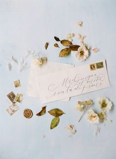 Wedding Invitation   Wedding Calligraphy   Handmade Paper   Wedding Invitations Elegant   Shasta Bell Calligraphy   Fine Art Wedding Photographer   Isibeal Studio   Molly Carr Photography #weddingphotography #weddinginvitations #paris