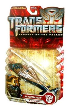 Hasbro Transformers Movie Series 2 Revenge of the Fallen Deluxe Class 6 Inch Tall Robot Action Figure  Autobot BLAZEMASTER with Spinning Combat Blade Vehicle Mode News Helicopter ** You can find more details by visiting the image link.Note:It is affiliate link to Amazon.