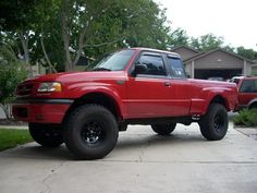 lifted ford ranger edge | 2001. 3inch body lift on 33s