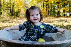 Lovely fall day with a beautiful little girl makes for a great photo!