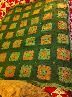 Willow granny square (pattern by Jan Eaton)