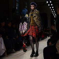 Junya Watanabe 20 Fall17 Leopard Print - Tartan -Punk Fabrizzio Morales 960