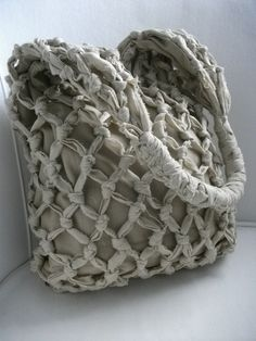 Knotted Boho Bag by GreenLinebyK on Etsy, $38.00