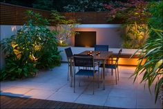 Urban garden design in South London :: Fulham