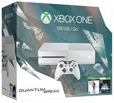 Xbox One 500GB White Console – Special Edition Quantum Break Bundle http://gamegearbuzz.com/xbox-one-500gb-white-console-special-edition-quantum-break-bundle/