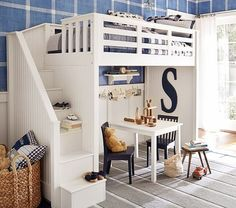 Cool set up from Pottery Barn kids