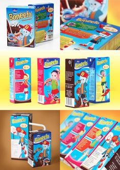 Logo Branding, Brand Identity, Brand Campaign, Powdered Milk, Print Ads, Presents, Packaging, Nutrition, Characters