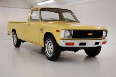 That's not a misprint: just 76 original miles are on this Chevy LUV pickup, which must make it the lowest mileage pickup from the in existence, anywhere. If you can top that, please tell us where that truck. Small Trucks, Mini Trucks, Lifted Trucks, Cool Trucks, 4x4 Trucks, Diesel Trucks, Lifted Chevy, Chevy Stepside, Chevy Pickups