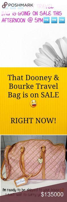 Dooney & Bourke Travel Bag Ad Dooney & Bourke Bags Travel Bags