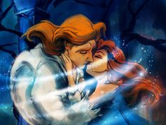 Which Disney love affair will you have? I got Adam and belle.