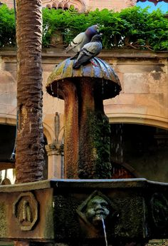 Fountain, Gallery, Outdoor Decor, Home Decor, Decoration Home, Roof Rack, Room Decor, Water Fountains, Home Interior Design