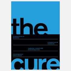 The Cure, 1985 17x23.75 now featured on Fab.