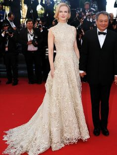 Nicole Kidman Cannes 2013 Valentino gown that anne hathaway was rumored to have passed up at the Oscars
