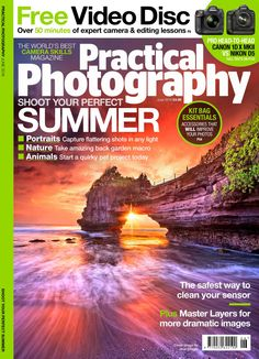 Shoot your perfect summer with Practical Photography June 2016 issue! Portraits - capture flattering shots in any light Nature - Take amazing back garden macro Animals - start a quirky pet project today  Plus Free Video disc with over 50 minutes of expert camera and editing lessons and a Free book- Holidays and courses directory 2016  Plus kit bag essentials - accessories that will improve your photos; Pro Head-to-head Canon 1D X MK11 vs Nikon D5; the safest way to clean your sensor; ...