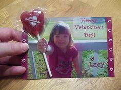 Lollipop Photo Valentine by My Mommys Place, via Flickr