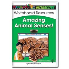 Amazing Animal Senses! Interactive Whiteboard CD-ROM [WS - NL0659] Animals can see, hear, touch, taste, and smell things, too. Some animals can do these things much better than you!