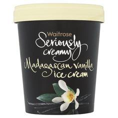 Seriously Creamy Madagascan Vanilla Ice Cream Waitrose at Ocado