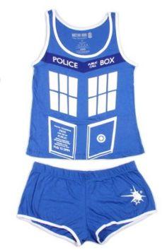 Doctor Who TARDIS Sleep Set