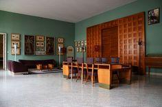Appartamenti del Rettore dell'Università di Padova -Circolo dei professori, Gio Ponti (Photo Bergamin)