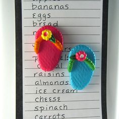 how cute are these? might look good on some Toekini's.....