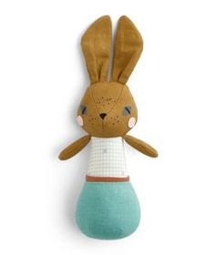 Abigail Brown Bunny Chime Rattle<br/>