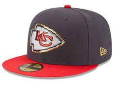 6d0cebb81ad Kansas City Chiefs New Era NFL Gold Collection On Field 59FIFTY Cap
