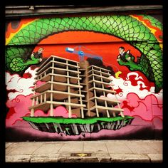 Dublin street art - John Dalton - gently does it . John Dalton, Dublin Street, Street Art, Photographs, Pictures, Photos, Drawings, Cake Smash Pictures