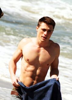 Colton Haynes. why, why Why WHy WHYYYY
