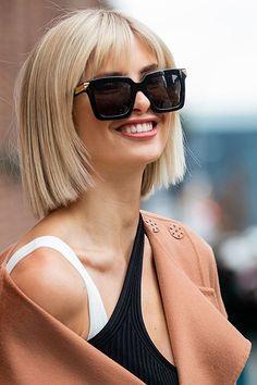 Du hast dünne Haare? Das sind die besten Trendfrisuren für dich im Herbst 2020 Pretty Hairstyles, Bob Hairstyles, Hair Inspo, Hair Inspiration, Short Hair Cuts, Short Hair Styles, Great Hair, Bridesmaid Hair, Hair Dos
