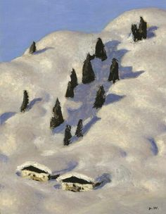Alfons Walde Mountain Art, Mountain Landscape, Illustration, Skiing, Mountains, City, Painters, Austria, Photographers