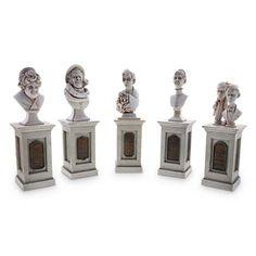 Your WDW Store - Disney Figure Set - The Haunted Mansion Pillar Bust Set