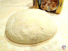 Impasto base per pizza o focaccia con farina manitoba