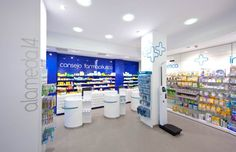 Pharmacy Design | Retail Design | Store Design | Pharmacy Shelving | Pharmacy Furniture | Espagne - Ipharma