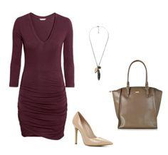 S:  Sukienka H&M  Naszyjnik, torba Mango  Buty Aldo
