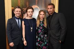 Matthias Schoenaerts, Michael Sheen, Juno Temple, and Carey Mulligan at Far from the Madding Crowd (2015)