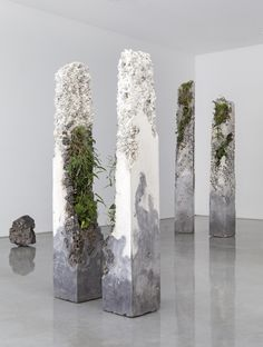 The Sculptures of Jamie North Jamie North is a Sydney based artist working across the mediums of sculpture and photography. Artist creates magnificent sculptures made out of cement, stone, marble, plants and moss. Evoking the feeling of remaining.