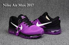 Nike Air Max 2017 Women Black Purple PVC