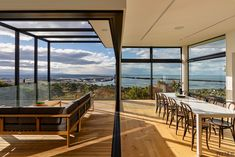 This home boasts spectacular outloo... - Gallery - 8 | Trends Batten, Commercial Design, Open Up, Design Awards, Cool Kitchens, Sliders, Countertops, Indoor, House Design