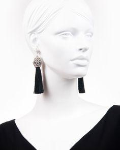 SILVER TEASEL DROP | cercei statement lungi ciucure Drop Earrings, Silver, Jewelry, Fashion, Moda, Jewlery, Money, Bijoux, Fashion Styles