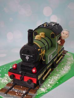 3D trein taart.