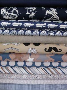 Fabricworm Custom Bundle, Little Man 12 Total - love their custom bundles.